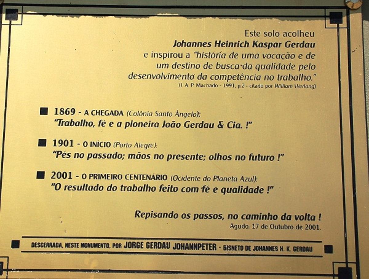 Agudo 020 1200pix Gerdau placa