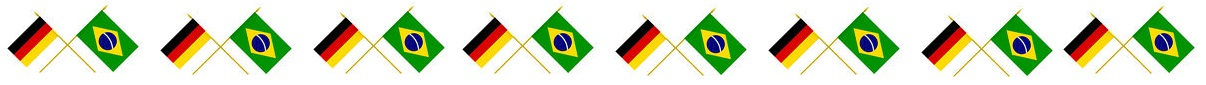Flags, Brazil and Germany
